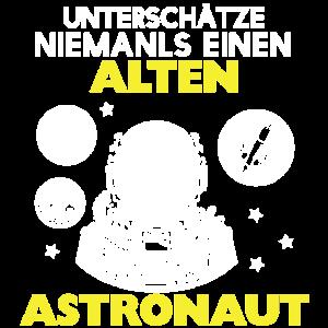 Astronaut -Astronauten Geschenk Opa Papa