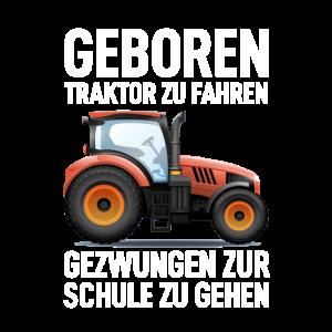 Bauern Landwirtschaft Geboren Um Traktor Zu Fahren