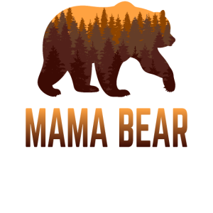 Mama Bear Stolze Mutter Mommy Mom Proud Geschenk