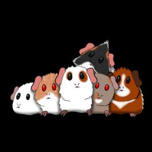 Schweinchenherde