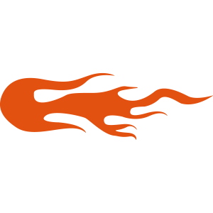 Flamme Feuer Flammen orange