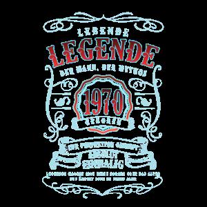 50. Geburtstag Geschenk - Legende 1970 Geboren