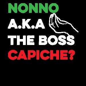 Lustiges italienisches Hemd - das Boss-Hemd - lustiges Itali
