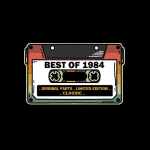 Vintage Best Of 1984 Geburtstag Geschenk Kassette
