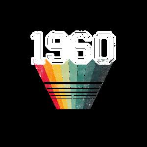 1960 T-Shirt Geboren 1960 - 60er Jahre T-Shirt