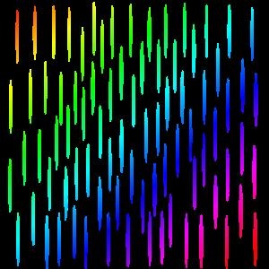 Bunte Streifen   Muster   Formen   Symbol