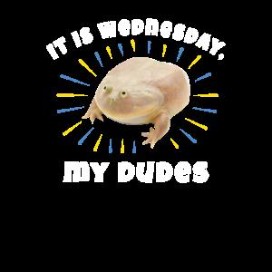 Es ist Mittwoch, meine Jungs. Frosch Meme