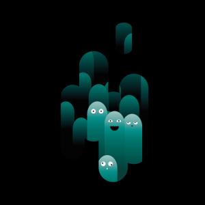Dark Underwater Wobbel