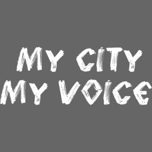 My City My Voice 1 white