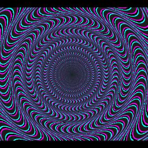 Lustig Verrückt Optische Täuschung