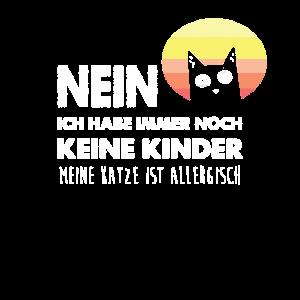 Nein Keine Kinder Die Katze Ist Allergisch Katzen