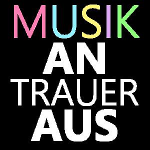 Musik an Trauer aus