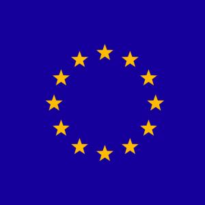 Europa, EU Symbol, Fahne, Flagge, Logo, Maske
