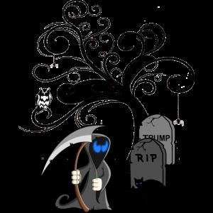 Sensenmann, Friedhof