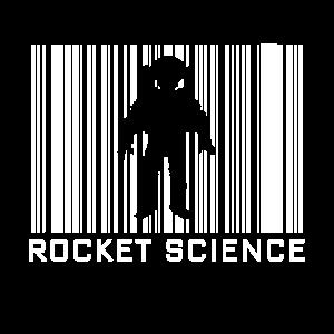 Raketen-Wissenschaften Hobby mit Barcode