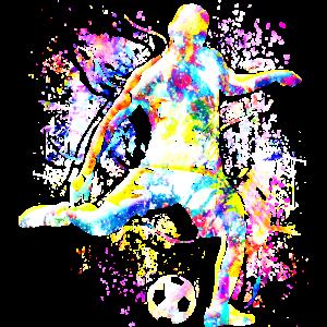 Fussball - Fussballspieler - Fussball spielen