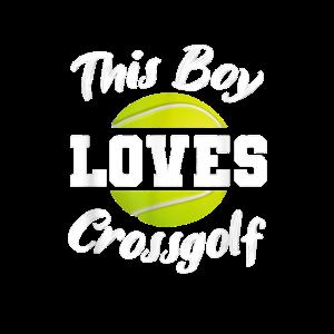 Herren Tolles Crossgolf Golfspielen TShirt
