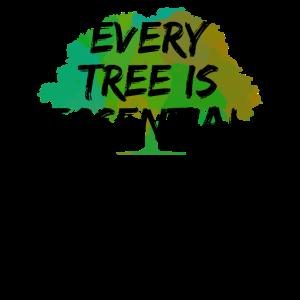 jeder Baum ist wichtig