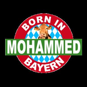 Born in Bayern, Mohammed, Geschenk, Geburtstag