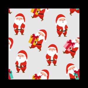 Weihnachtsmann Gesichtsmaske