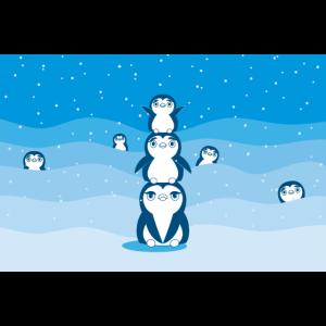 Pinguin Maske Pinguinliebhaber