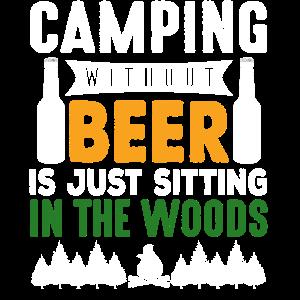 Zelten Camping Camper Wohnwagen Zelten Geschenk