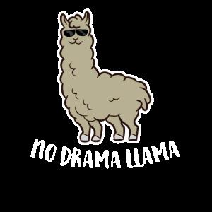 Kein DramaLama Lustige AlpakaLiebhaber Llamas