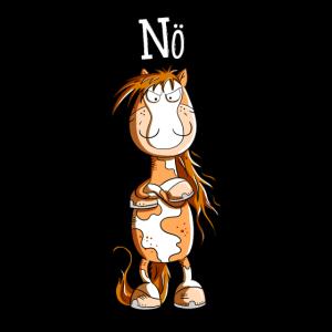 Nö Pferd I Einfach Nö Tiermotiv