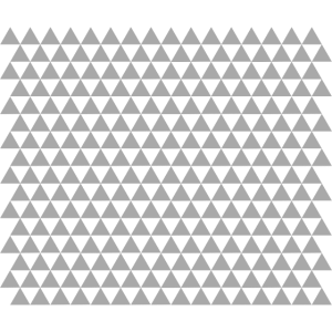 Dreiecke Grau Mundschutz