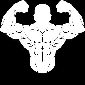 Bodybuilder Starker Mann Muskelaufbau Muskel Sport