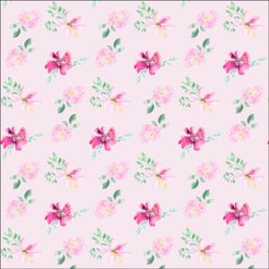 Gesichtsmaske Blumenmuster