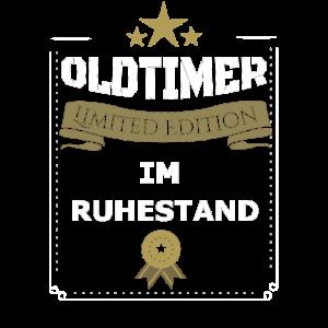 Rente Rentner Oldtimer Geschenk