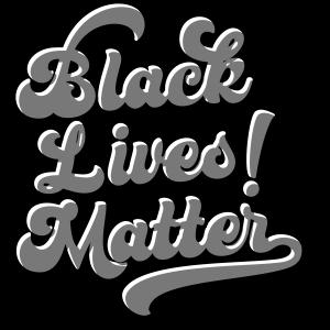 Black Lives Matter! Vintage Lettering Script