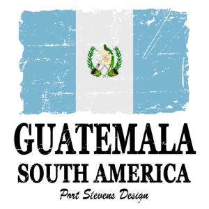 Guatemala Flagge - Flag of Guatemala - Shabby Look