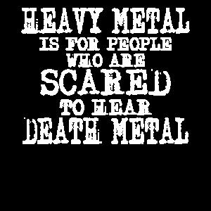 Heavy Metal vs. Death Metal