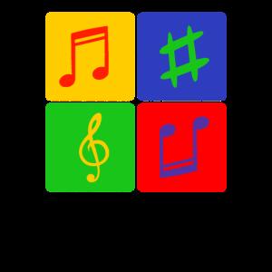 Musiknoten Song Lieder Musicfan