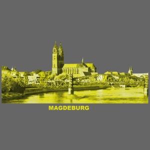 Magdeburg Dom Sachsen-Anhalt Deutschland Elbe
