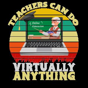 Lehrer können praktisch alles im Online-Unterricht machen