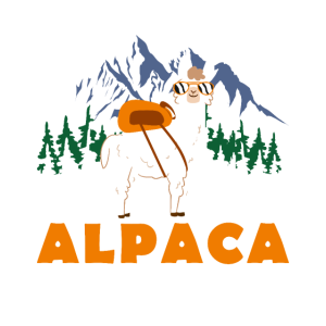 Hiking You Say Alpaca My Bags Vintage Funny Travel