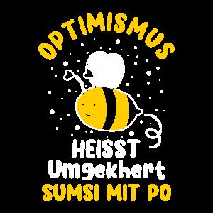 Optimismus heißt umgekehrt