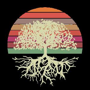 Vintage alter Baum des Lebens