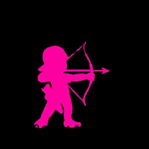 Pfeil und Bogen Zielscheibe