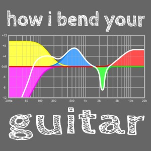 how i bend your guitar