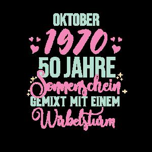 50. Geburtstag Damen Legendär Seit Oktober 1970
