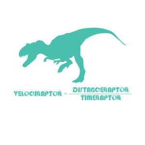 Velociraptor=Distance Raptor Over Time Raptor