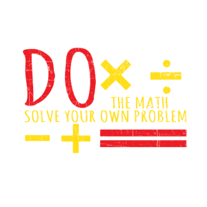 Do The Math Solve Your Own Problem