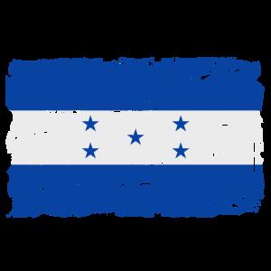 Honduras Flagge - Flag of Honduras - Shabby Look