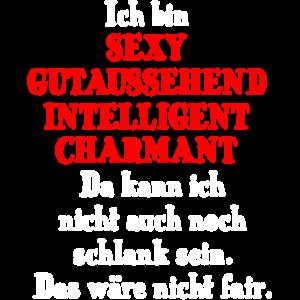 Sexy gutaussehend intelligent charmant schlank