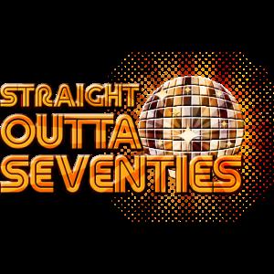 Straight Outta Seventies 70er Retro Discokugel