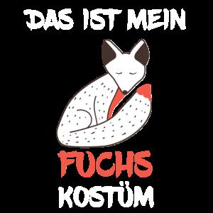 Fuchs Kostüm Karneval Fasching Fuechse Verkleidung